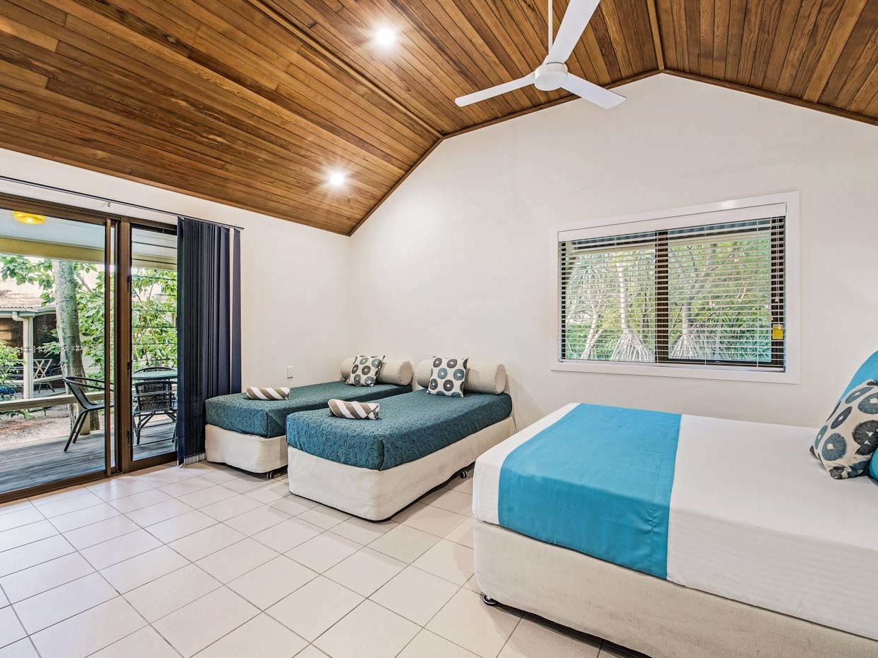 Turtle Family Room at Heron Island Resort in Queensland, Australia