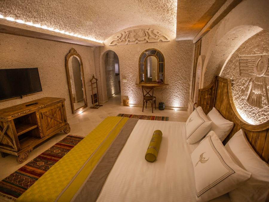 Royal Cave Suite 203 at Anka Cave Suites in Cappadocia, Turkey