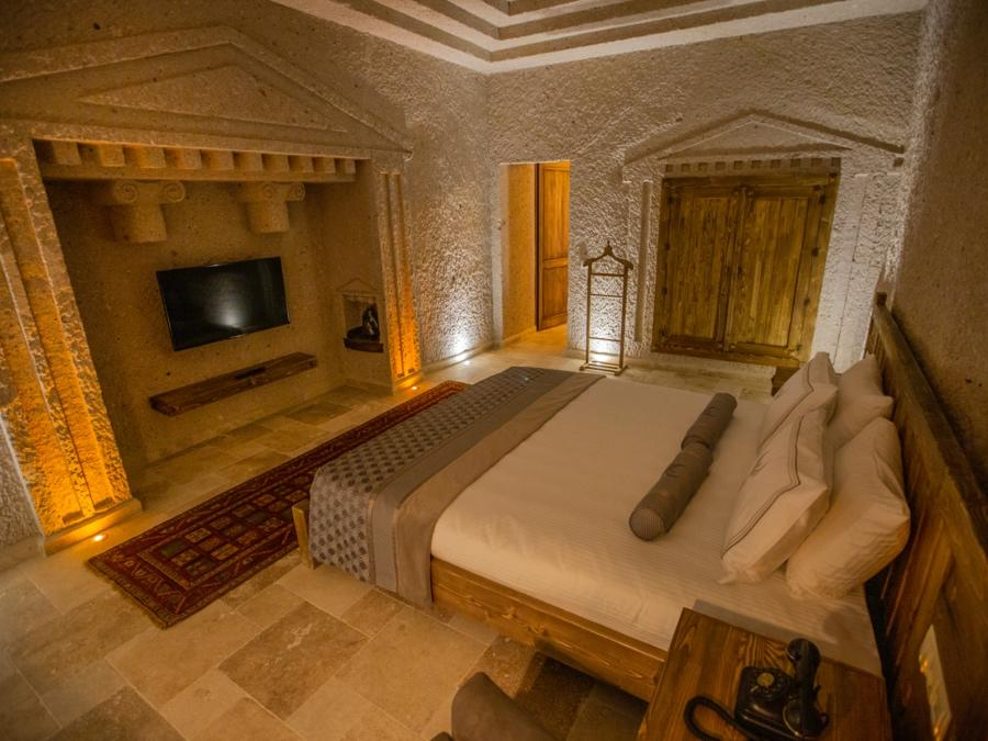 Royal Cave Suite 204 at Anka Cave Suites in Cappadocia, Turkey