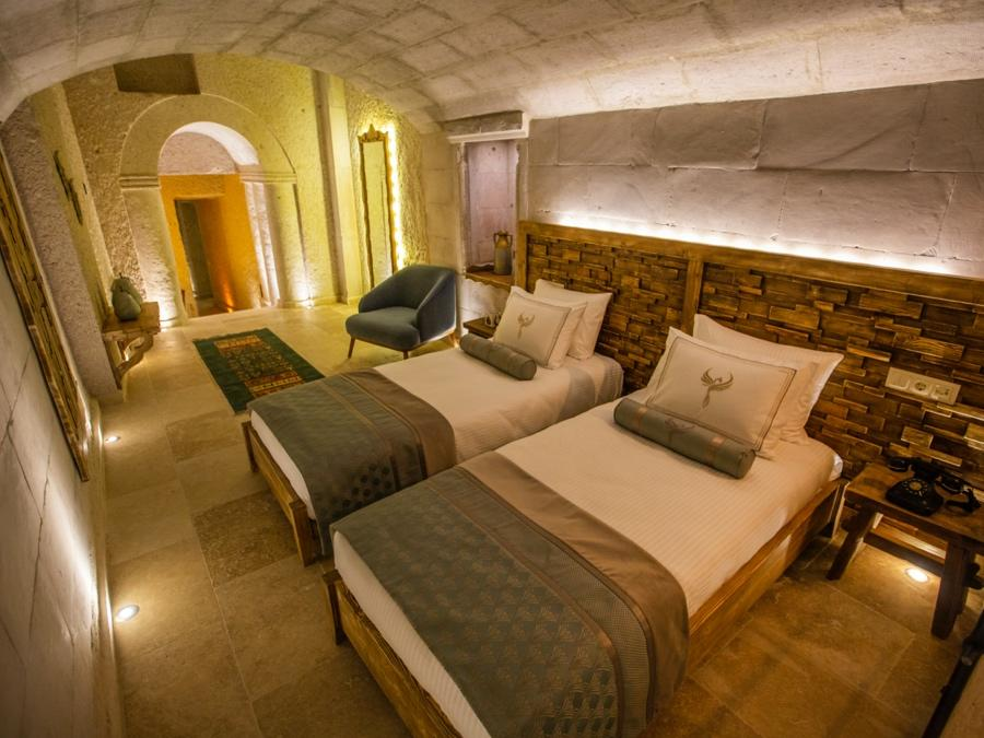 Royal Cave Suite 206 at Anka Cave Suites in Cappadocia, Turkey