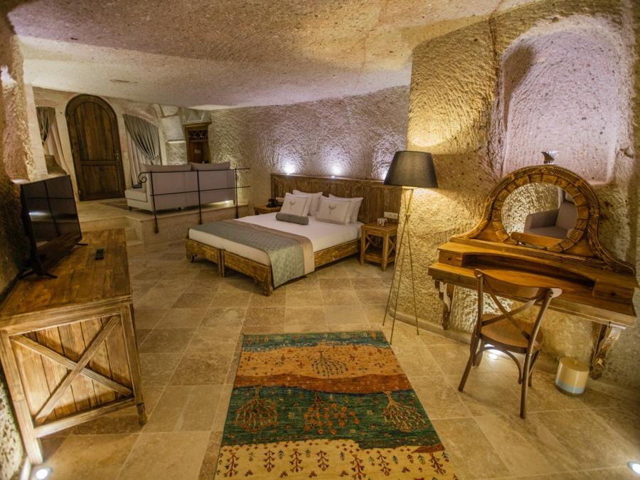 Royal Cave Suite 208 at Anka Cave Suites in Cappadocia, Turkey