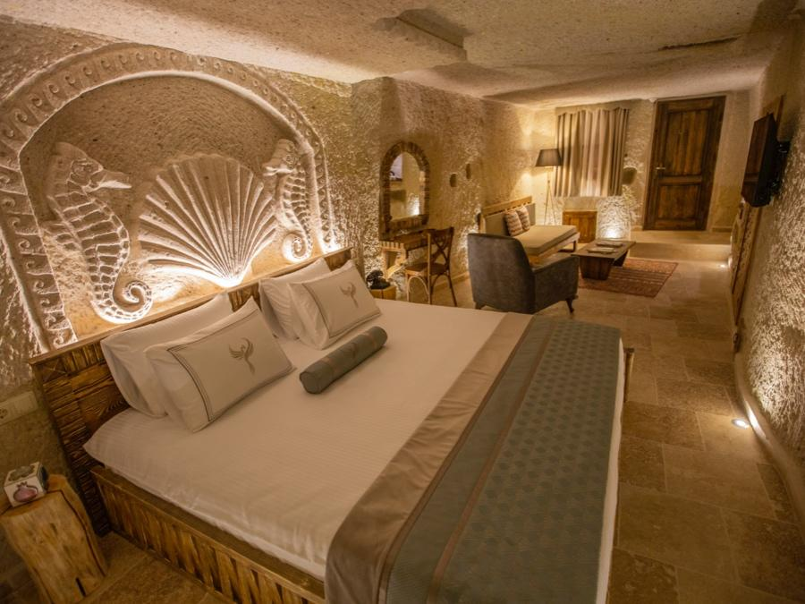 Royal Cave Suite 207 at Anka Cave Suites in Cappadocia, Turkey