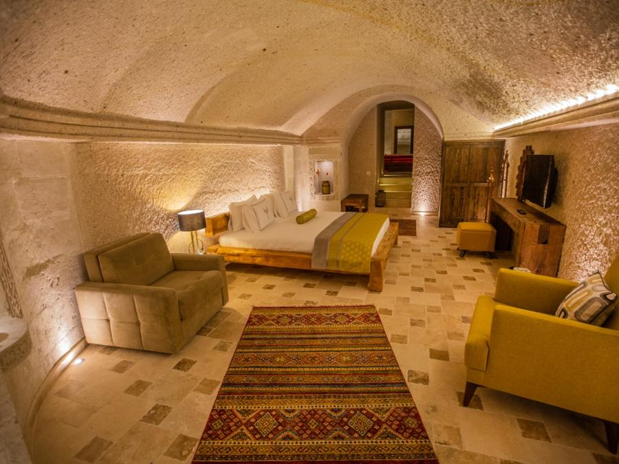Royal Cave Suite 402 at Anka Cave Suites in Cappadocia, Turkey