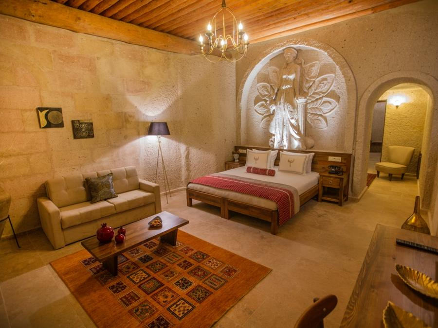 Royal Cave Suite 404 at Anka Cave Suites in Cappadocia, Turkey