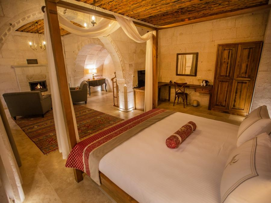 Imperial Cave Suite 209 at Anka Cave Suites in Cappadocia, Turkey