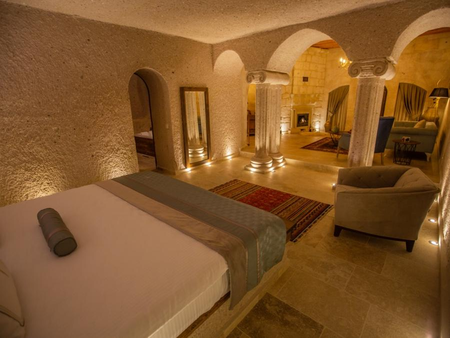 Imperial Cave Suite 405 at Anka Cave Suites in Cappadocia, Turkey