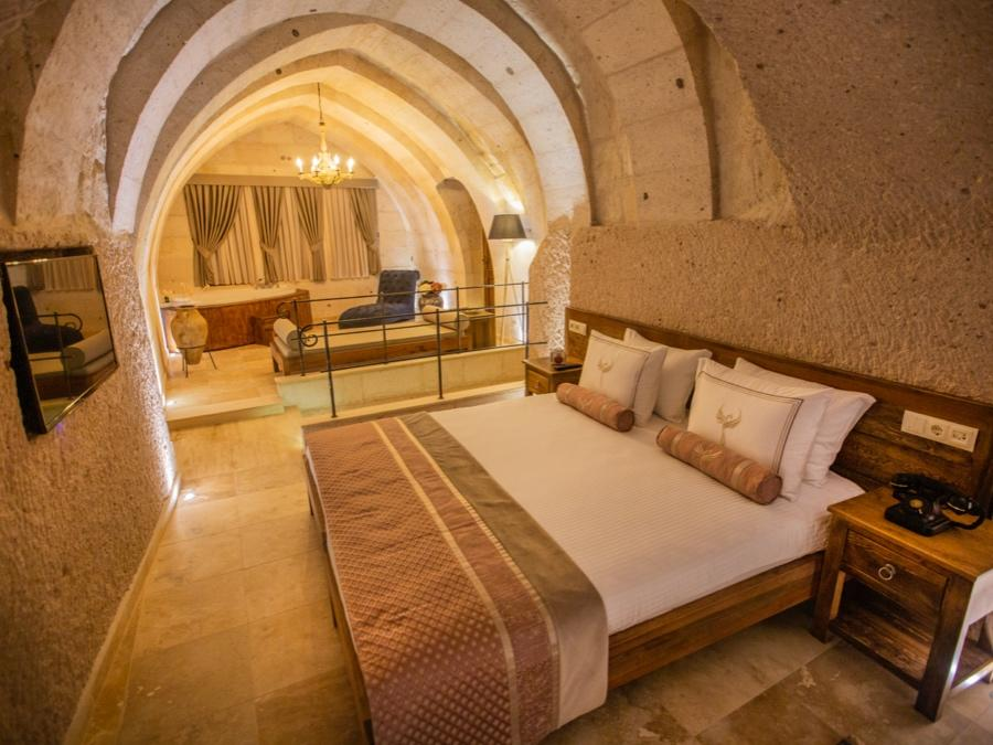 Imperial Cave Suite 301 at Anka Cave Suites in Cappadocia, Turkey