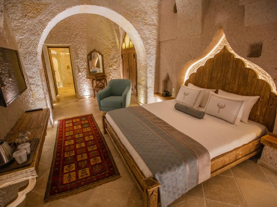 Deluxe Cave Suite 205 at Anka Cave Suites in Cappadocia, Turkey