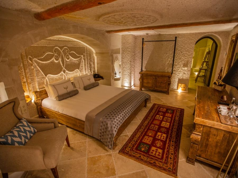 Deluxe Cave Suite 303 at Anka Cave Suites in Cappadocia, Turkey