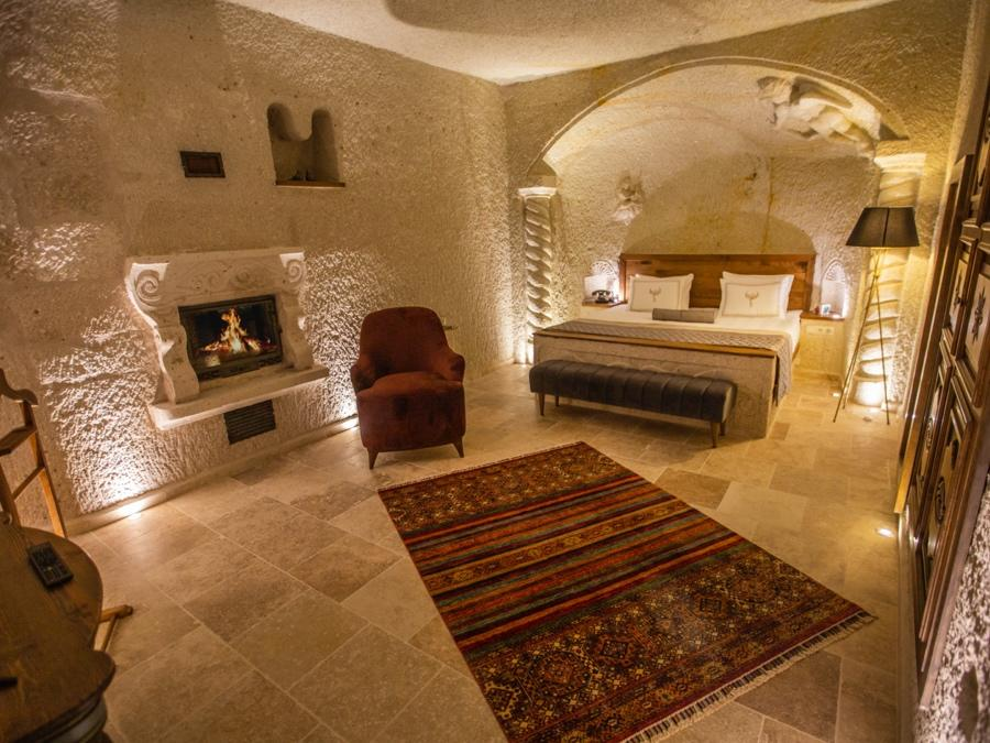 Superior Cave Suite 103 at Anka Cave Suites in Cappadocia, Turkey
