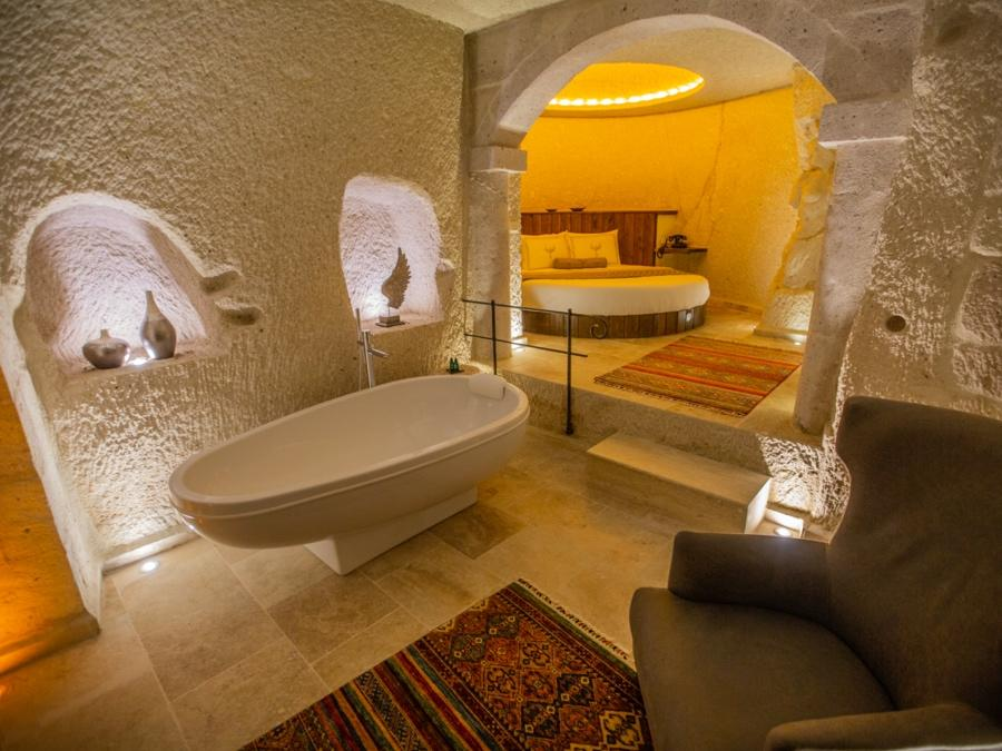 Superior Cave Suite 104 at Anka Cave Suites in Cappadocia, Turkey
