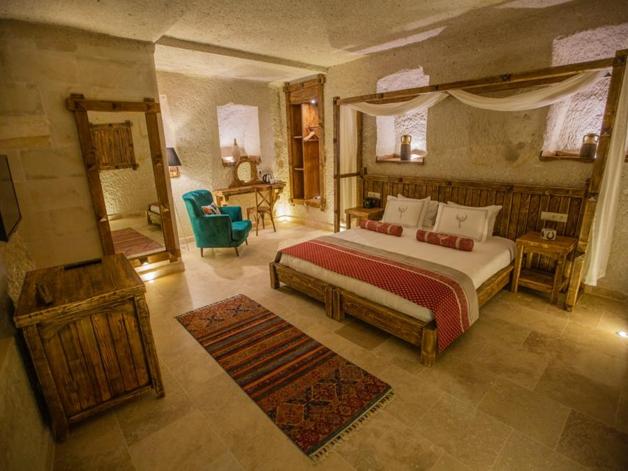 Superior Cave Suite 102 at Anka Cave Suites in Cappadocia, Turkey