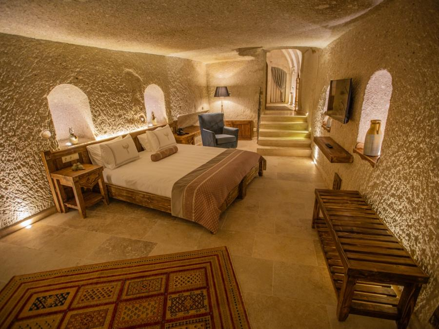 Superior Cave Suite 108 at Anka Cave Suites in Cappadocia, Turkey