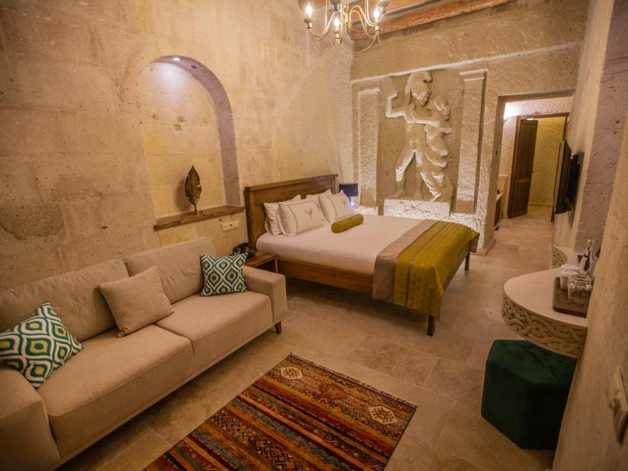 Superior Cave Suite 403 at Anka Cave Suites in Cappadocia, Turkey
