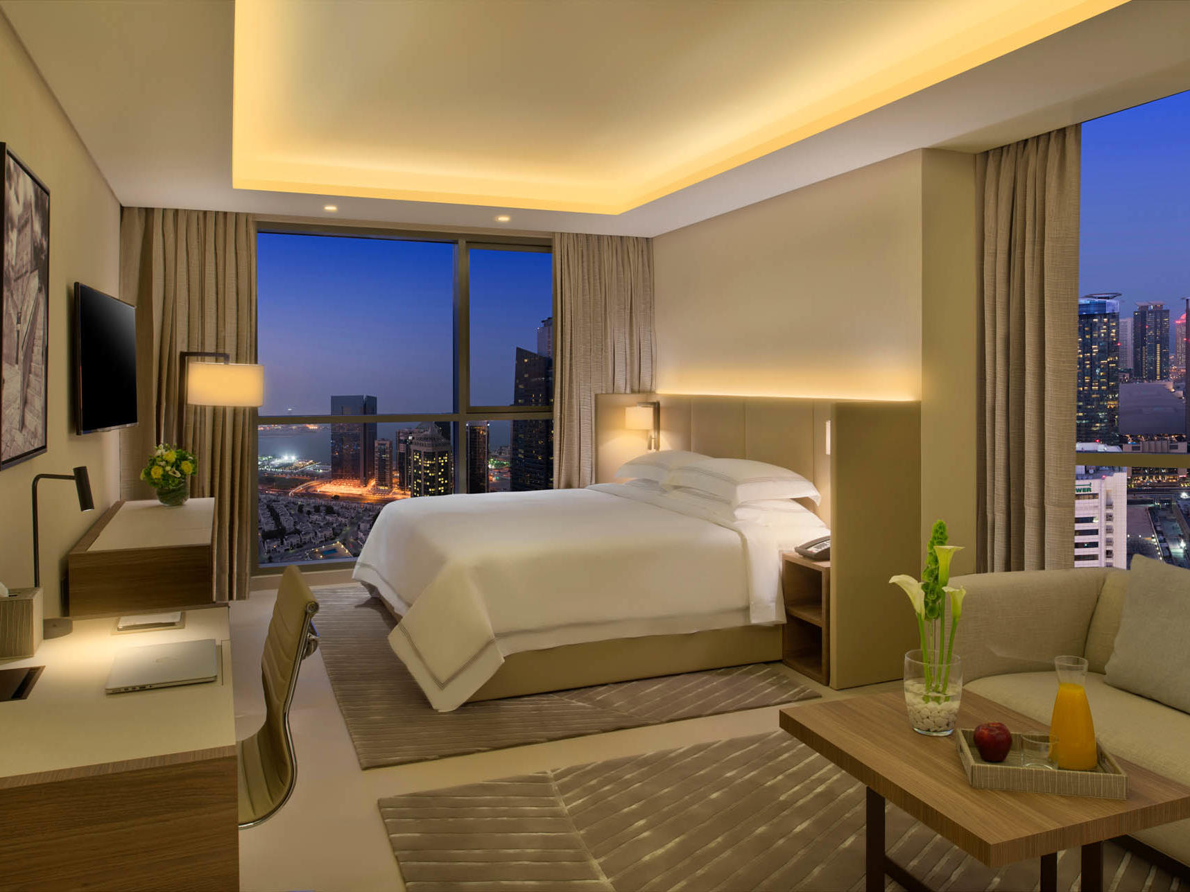 Deluxe Rooms at Rabban Suites in Doha