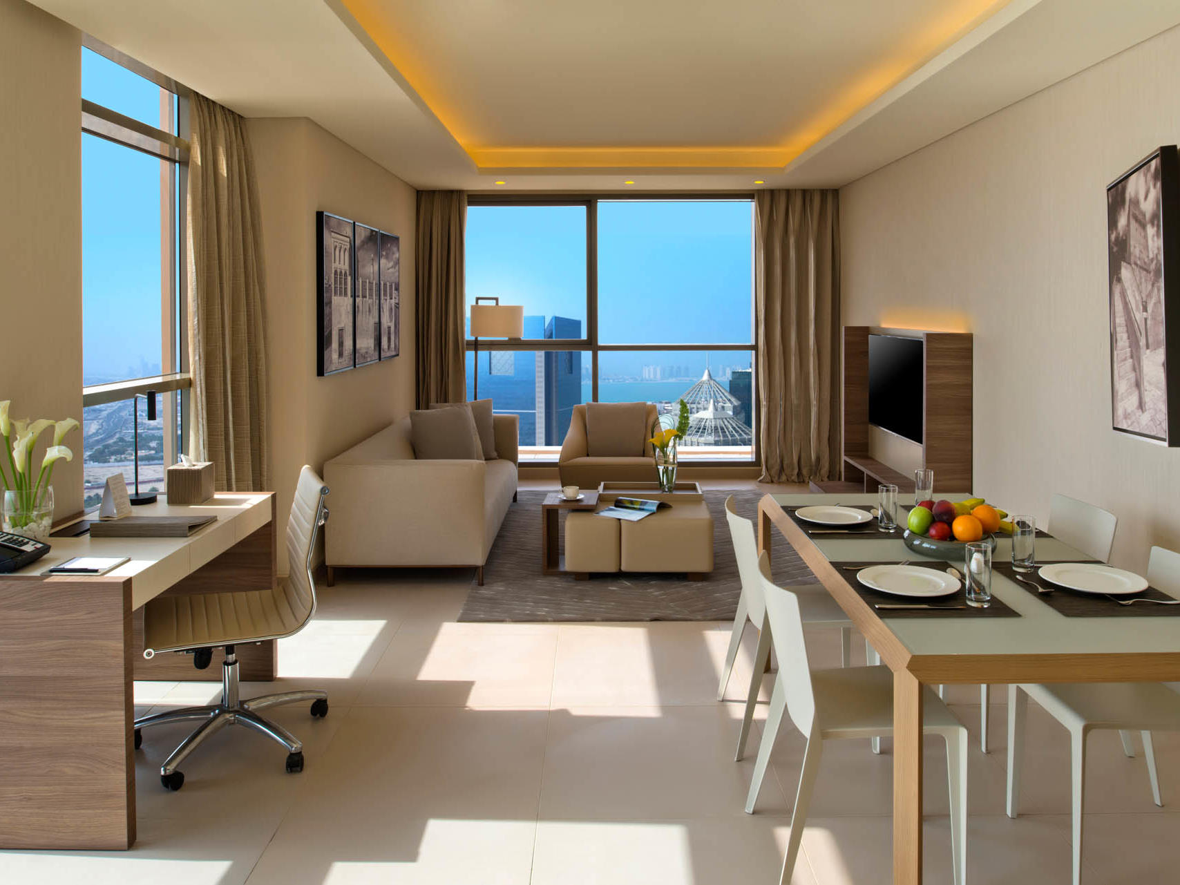Two bedroom suite at Rabban Suites in Doha