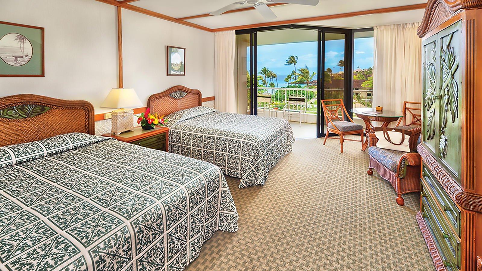 Kaanapali Beach Hotel Ocean View Room