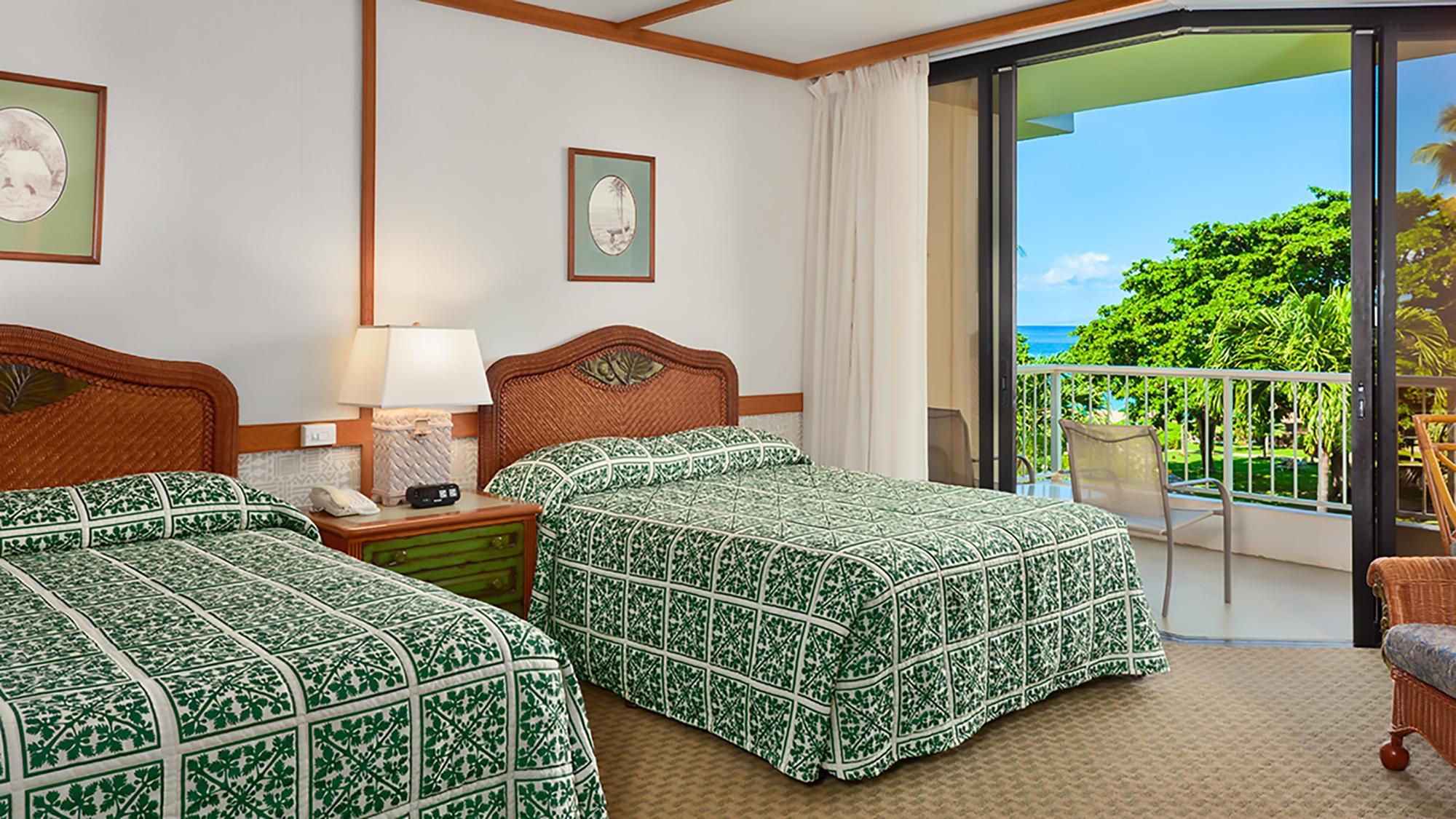 Kaanapali Beach Hotel Partial Ocean View Room