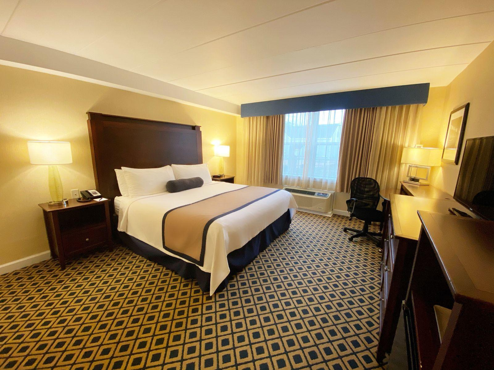 Handicap Accessible Room with one bed at Westford Regency