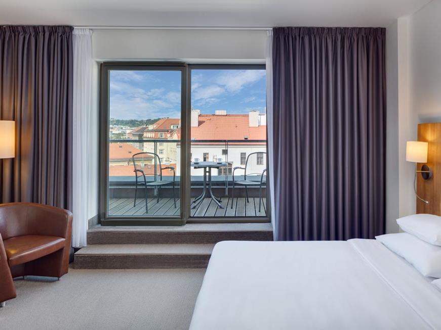 Superior Room with Terrace at Hermitage Hotel Prague