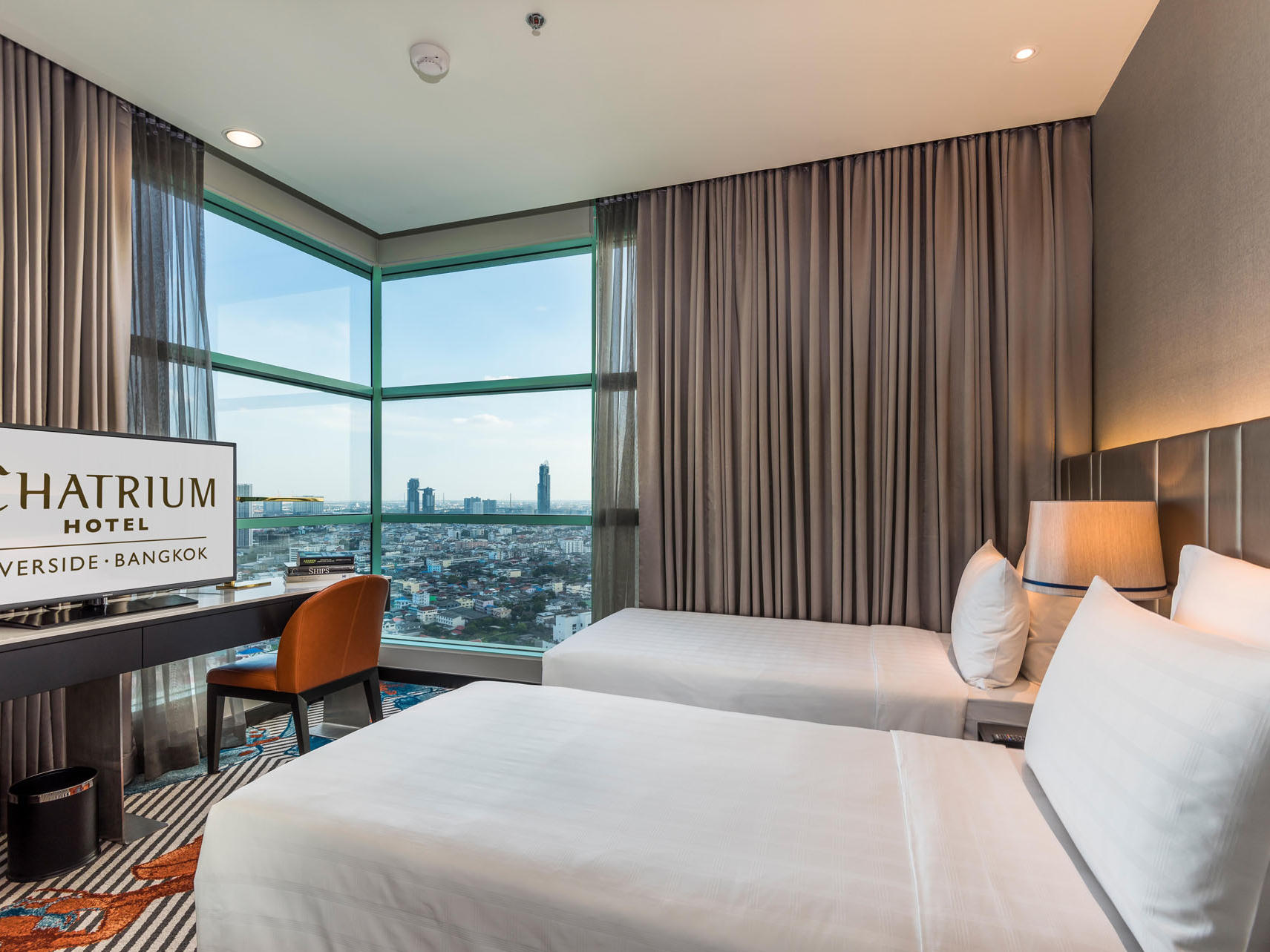 Club Suite Two Bedroom City View at Chatrium Hotel Riverside
