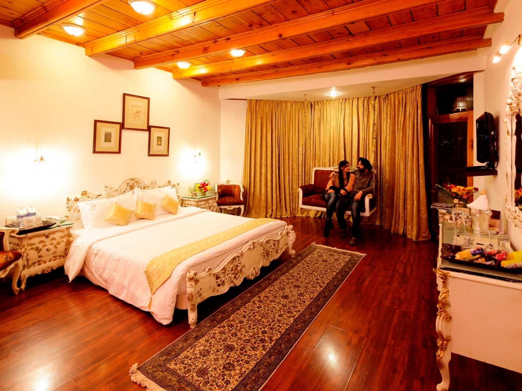 Royal Suite at ManuAllaya Resort Spa Manali in Himachal Pradesh, India