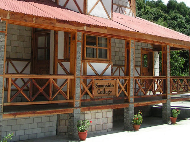 Sunny Side Cottage at ManuAllaya Resort Spa Manali in Himachal Pradesh, India