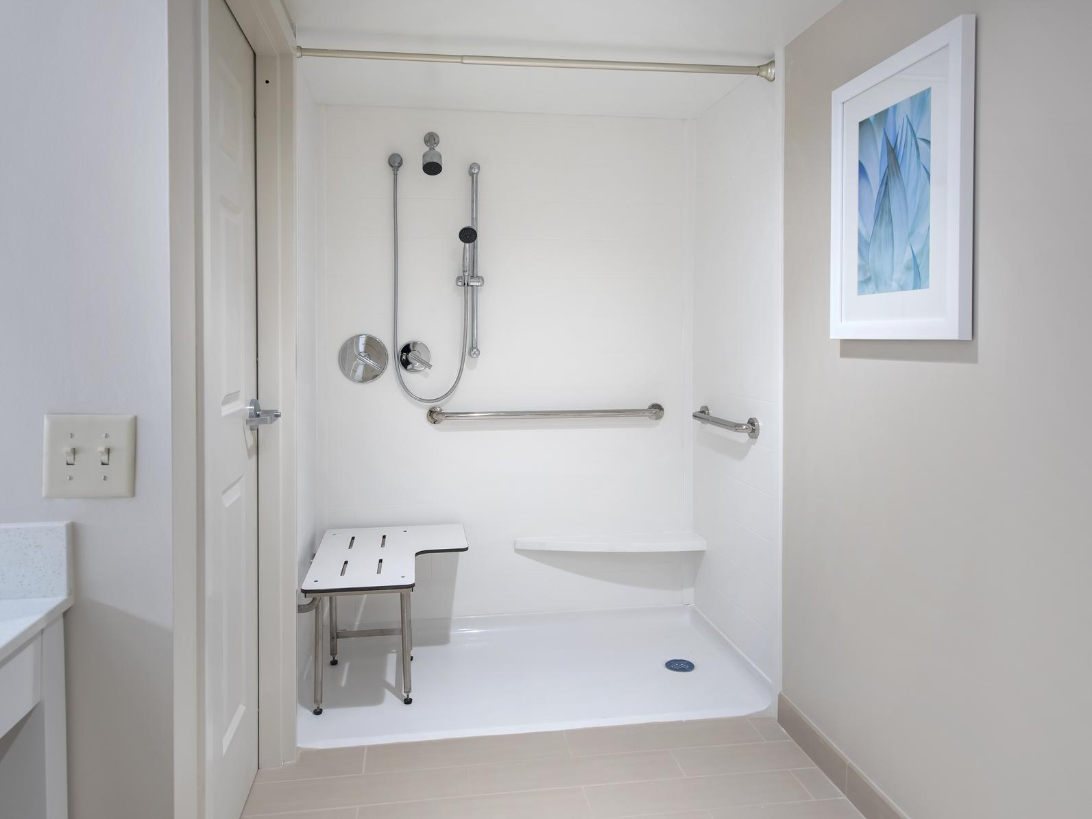 accessible bathroom shower