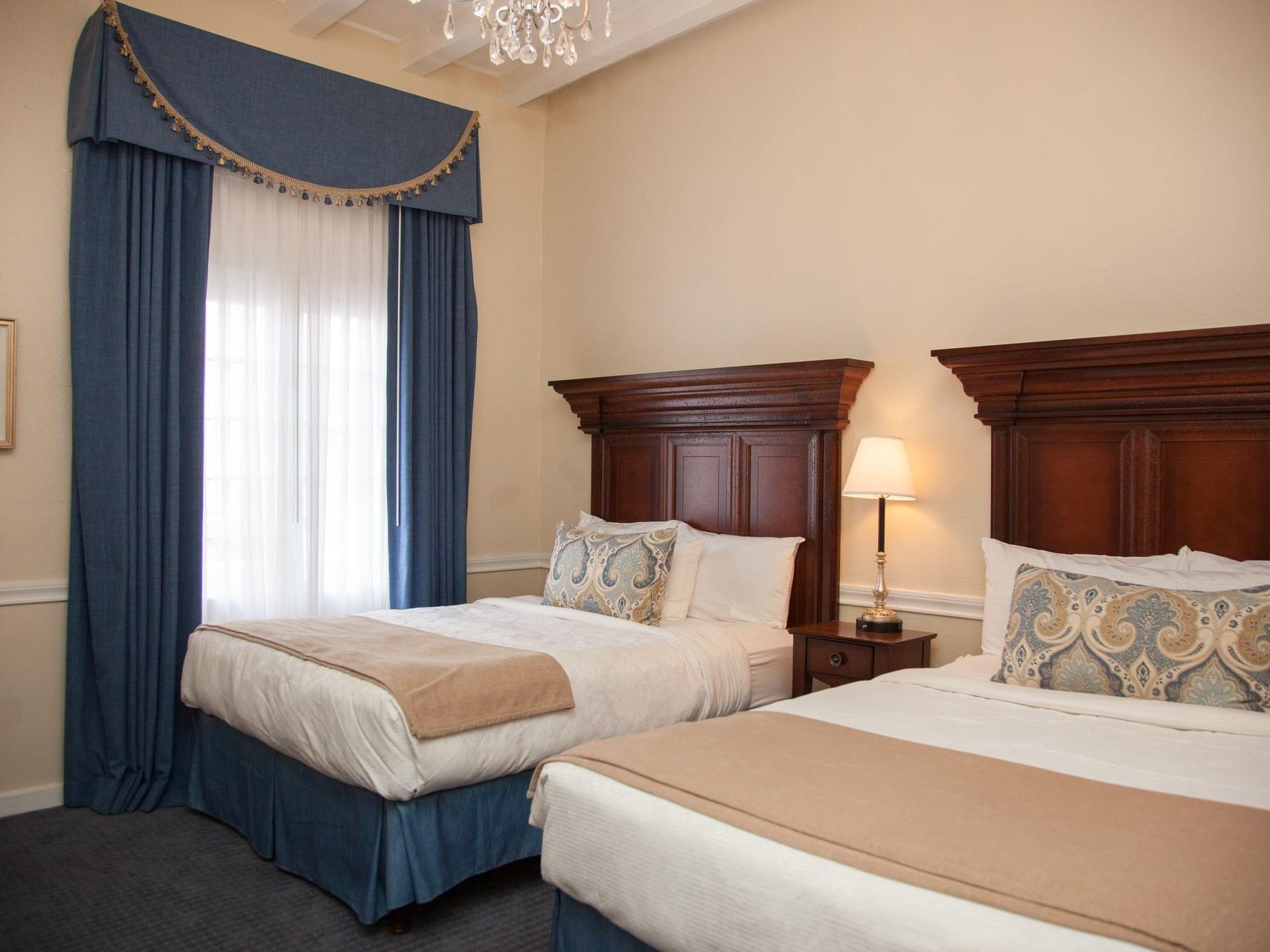 Two Queen Suite with two beds at Hotel St. Pierre
