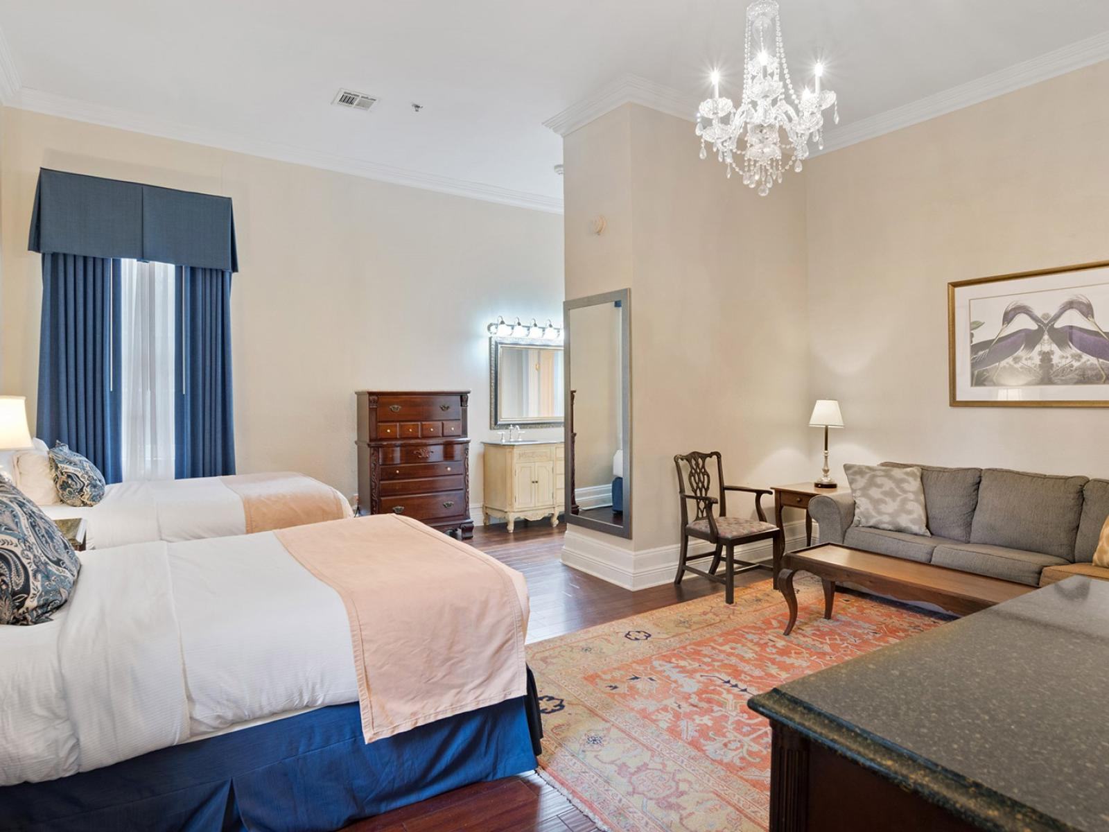 Junior Suite with two beds at Andrea Jackson Hotel