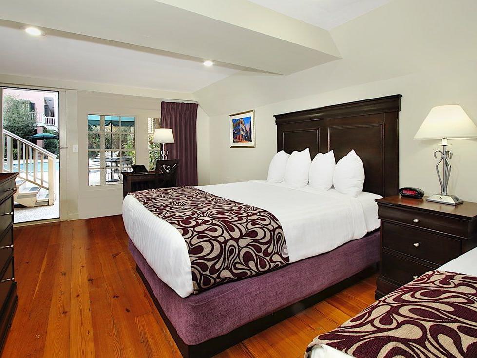 Lamothe House Deluxe Two Queen Room