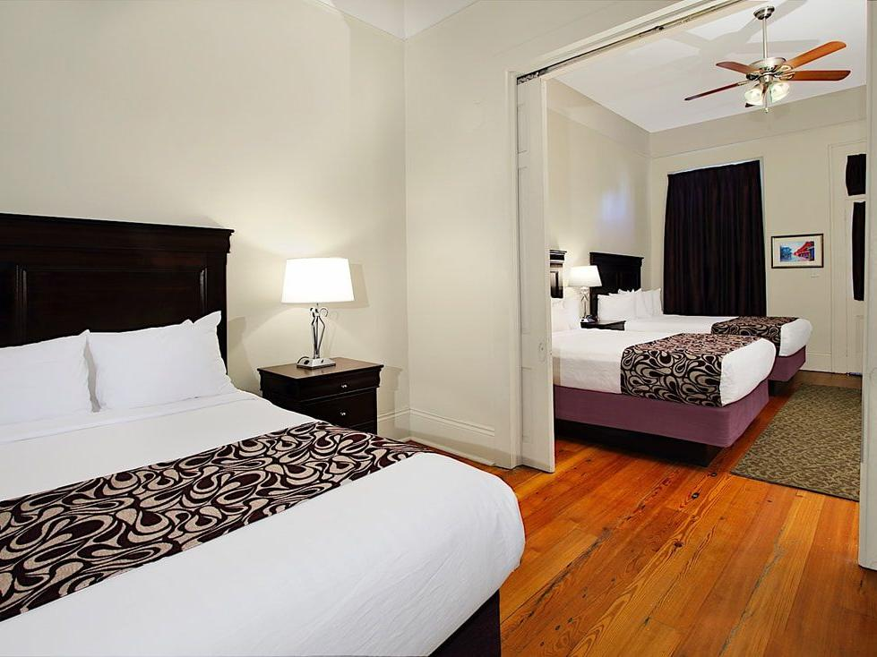 Lamothe House Two Bedroom Suite Carriage House