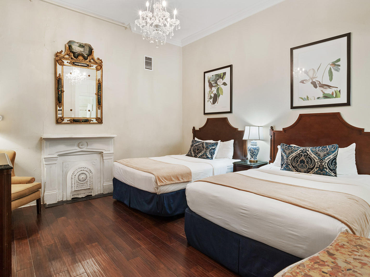 Classic Two Queen Beds Room at Andrew Jackson Hotel