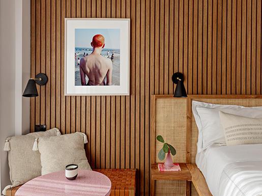 Rockaway Hotel Room Interiors