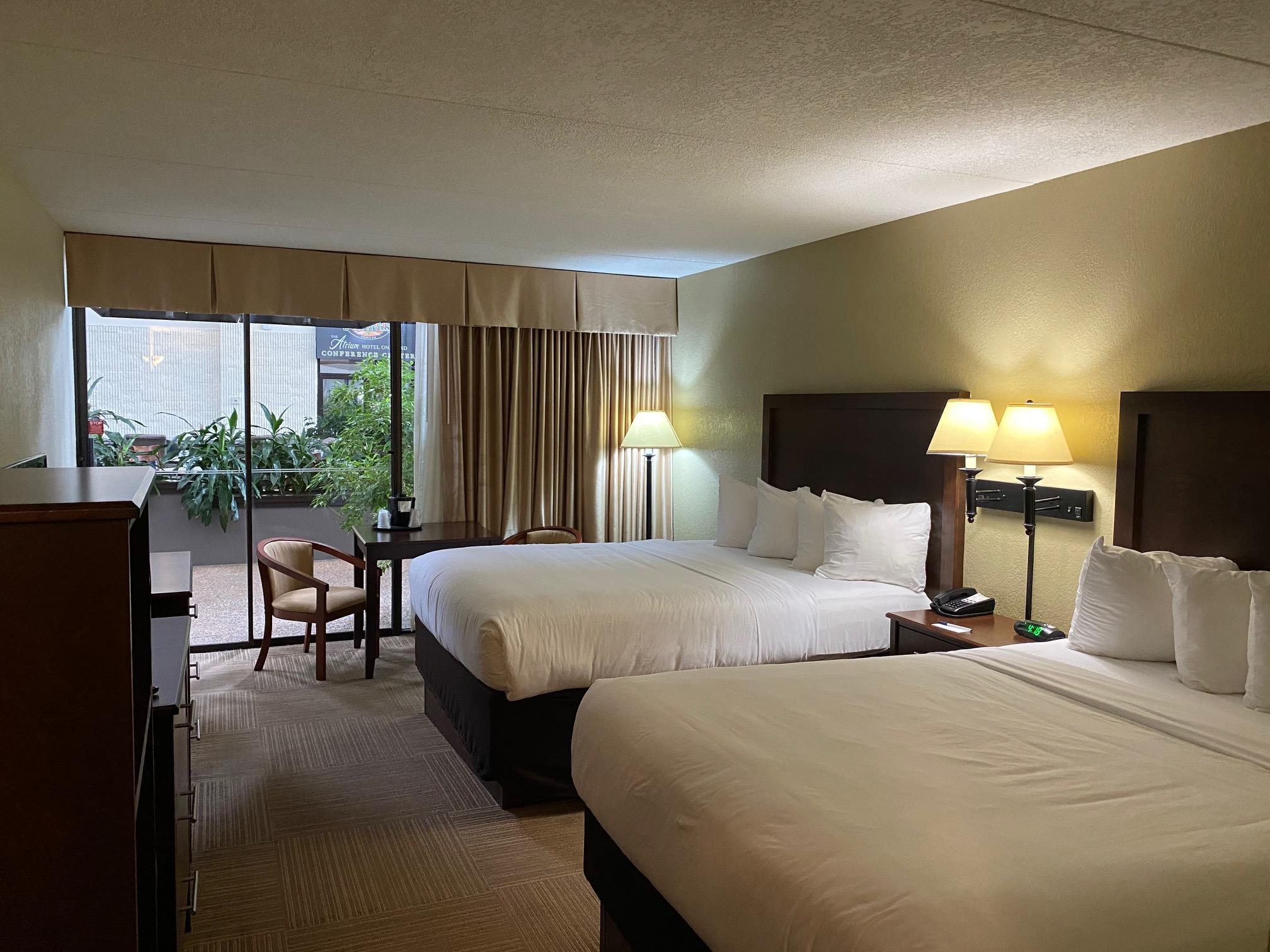 1st Floor Two Queen Pool Side Room
