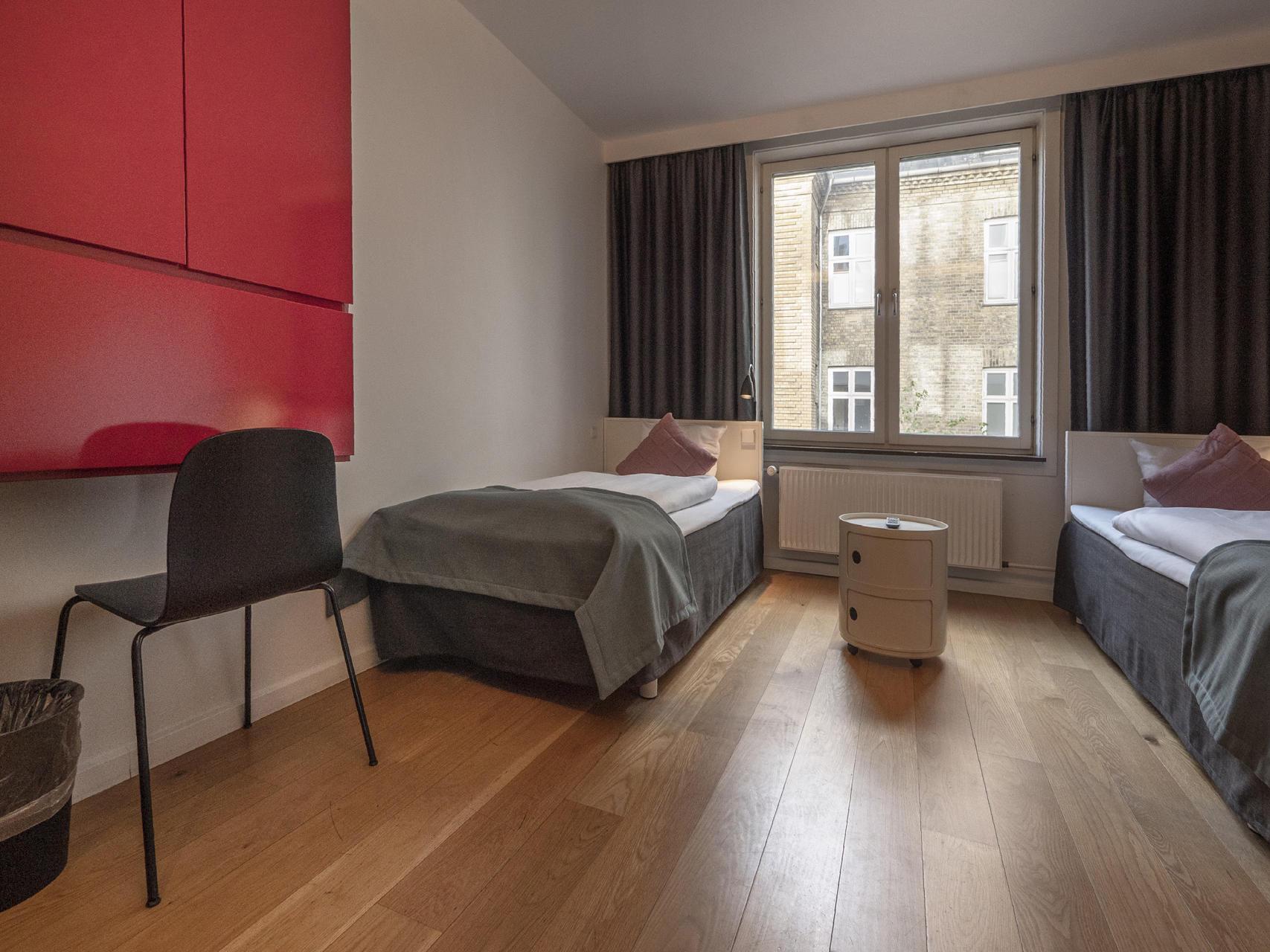 Standard Twin Room at Hotel Twentyseven Copenhagen