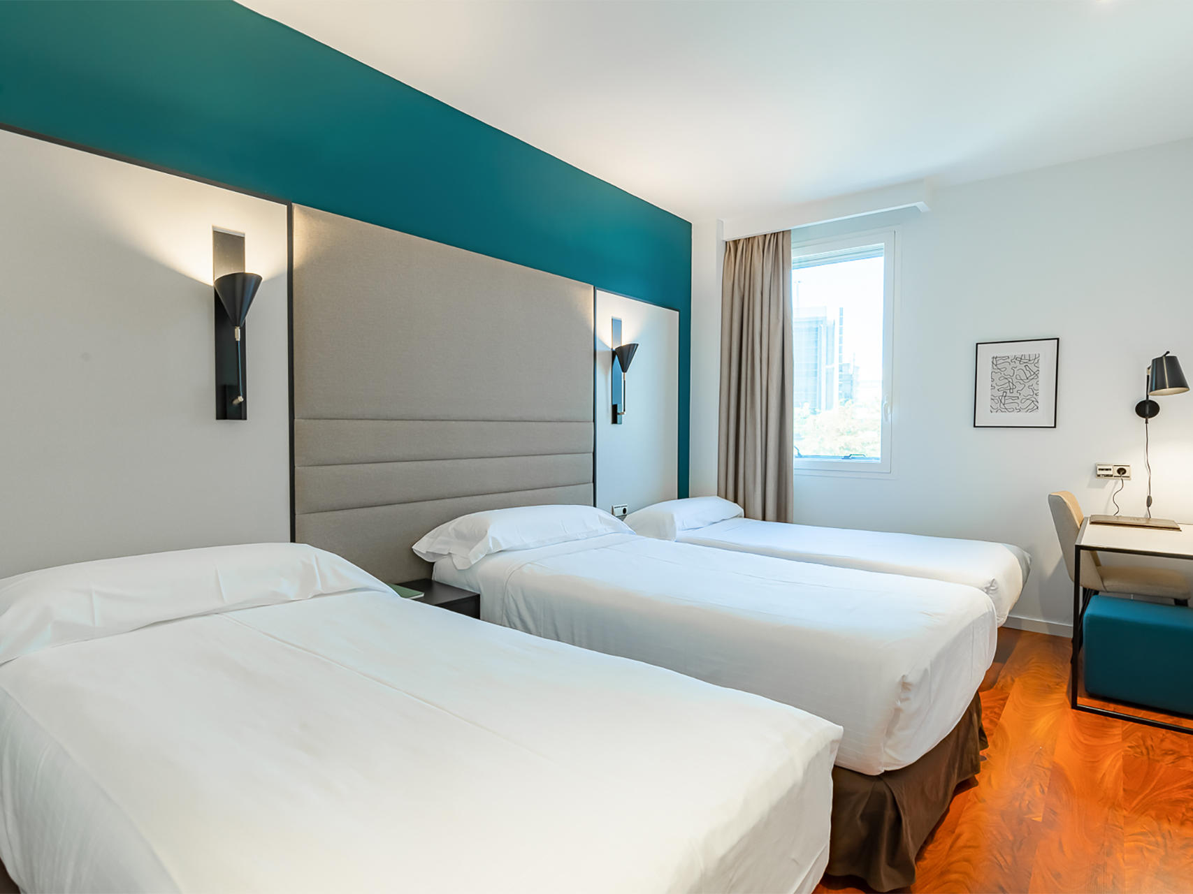 Triple Room at Hotel Amura Alcobendas near Madrid Airport