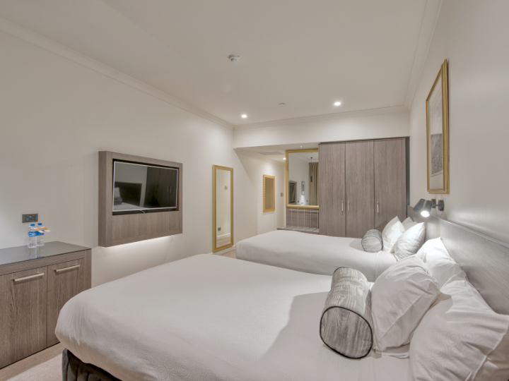 Deluxe Twin River View Room  in Duxton Hotel Perth