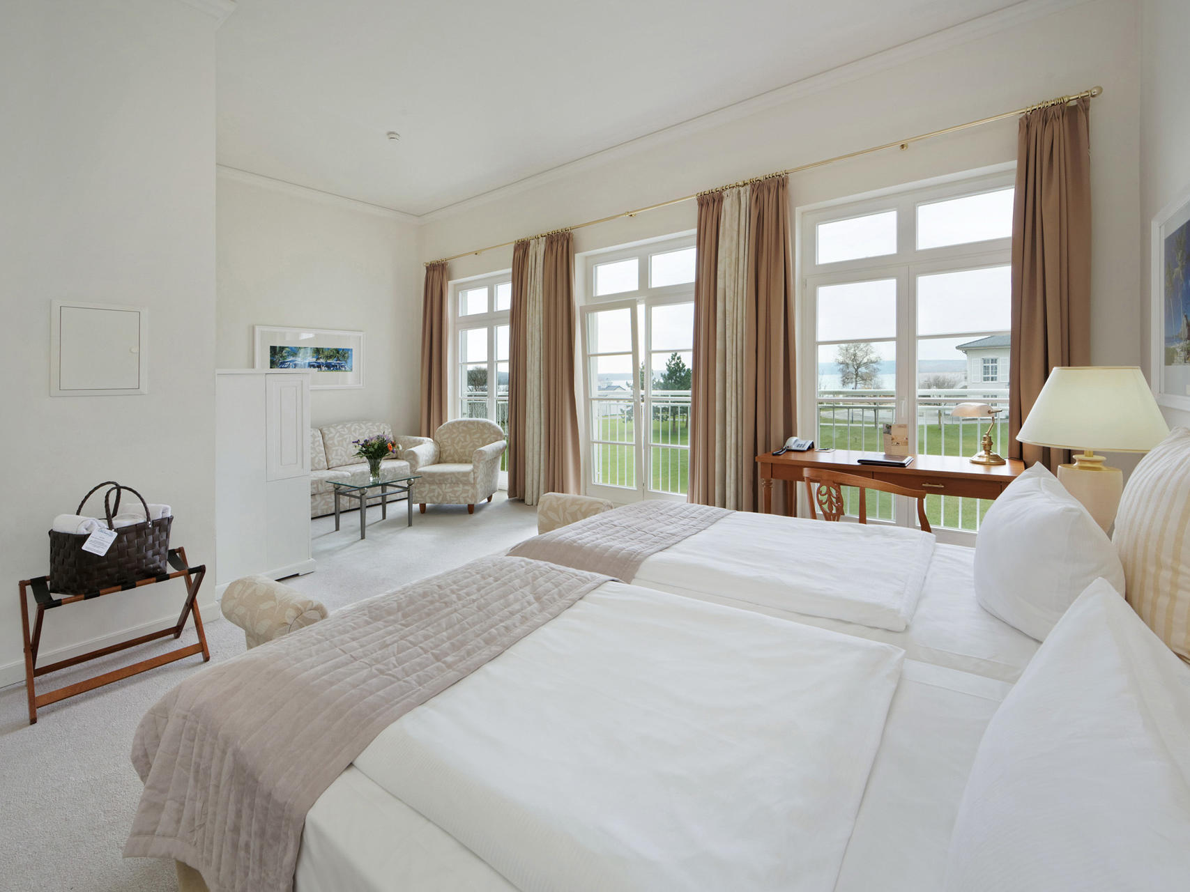 Deluxe room at Precise Resort Schwielowsee