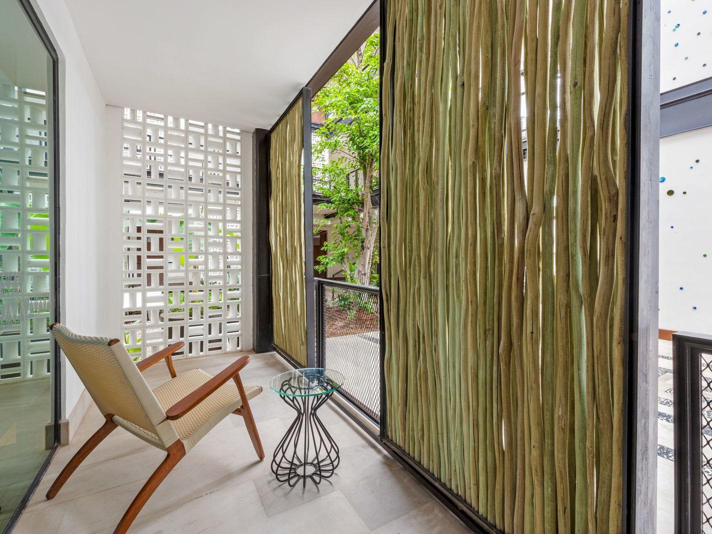 Terrace area at the Junior Suite in Wayam Mundo Imperial