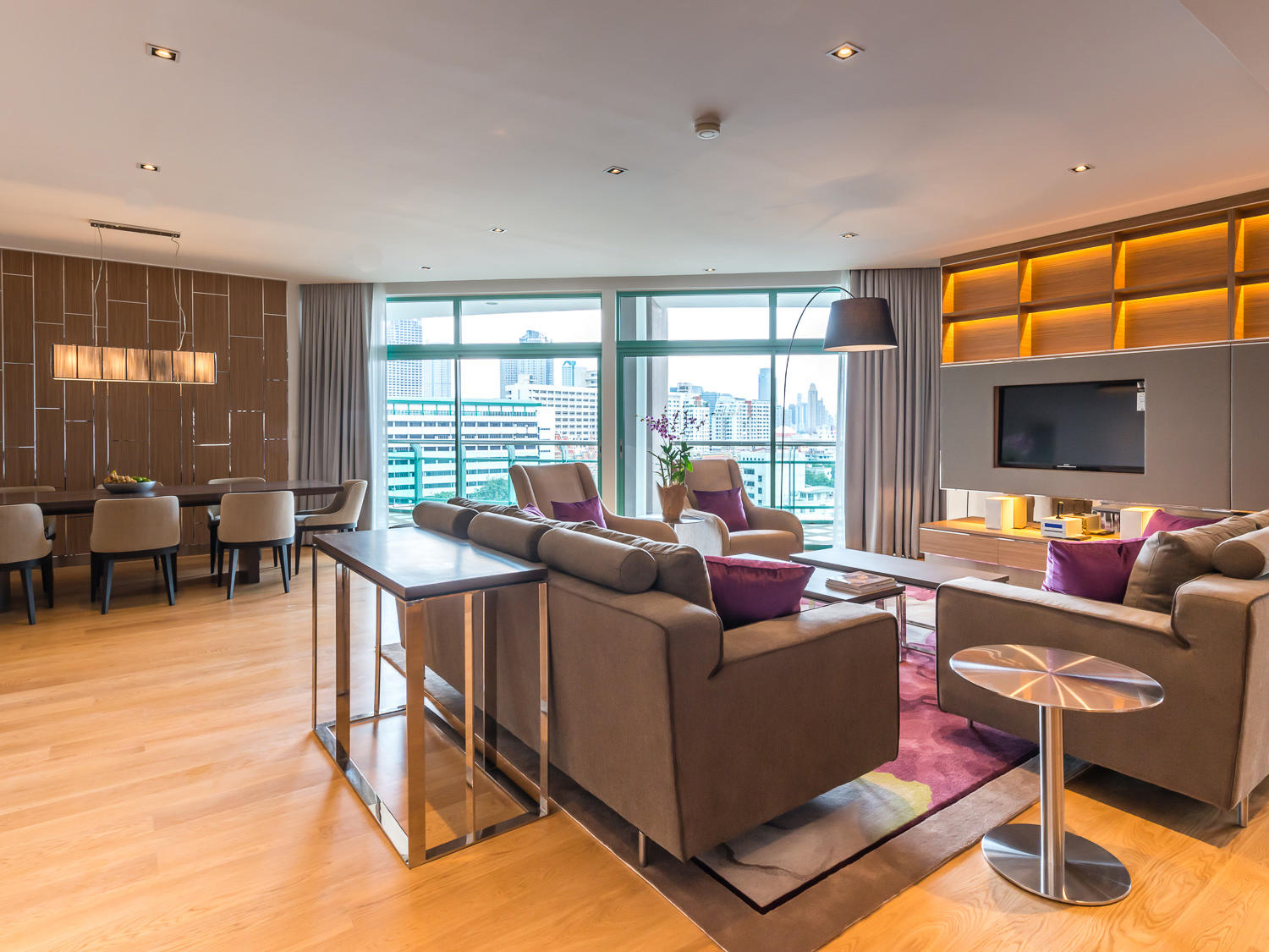 View of Four bedroom Residence at Chatrium Residence Riverside