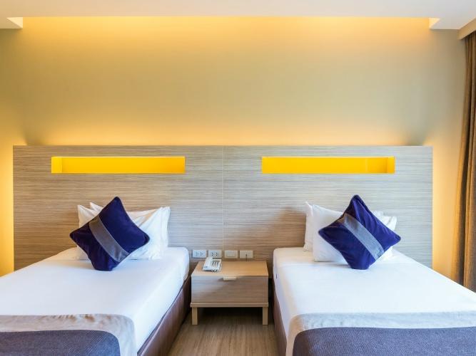 Deluxe Mountain View Room at Chatrium Golf Resort Soi Dao Chanthaburi