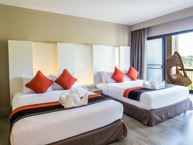Soi dao mountain view suite at Chatrium Golf Resort Soi Dao Chanthaburi