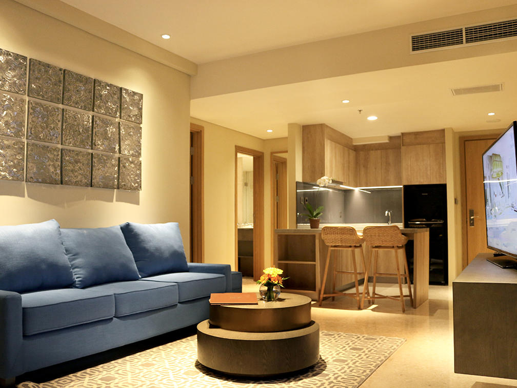 One bedroom living room in Vasa Hotel Surabaya