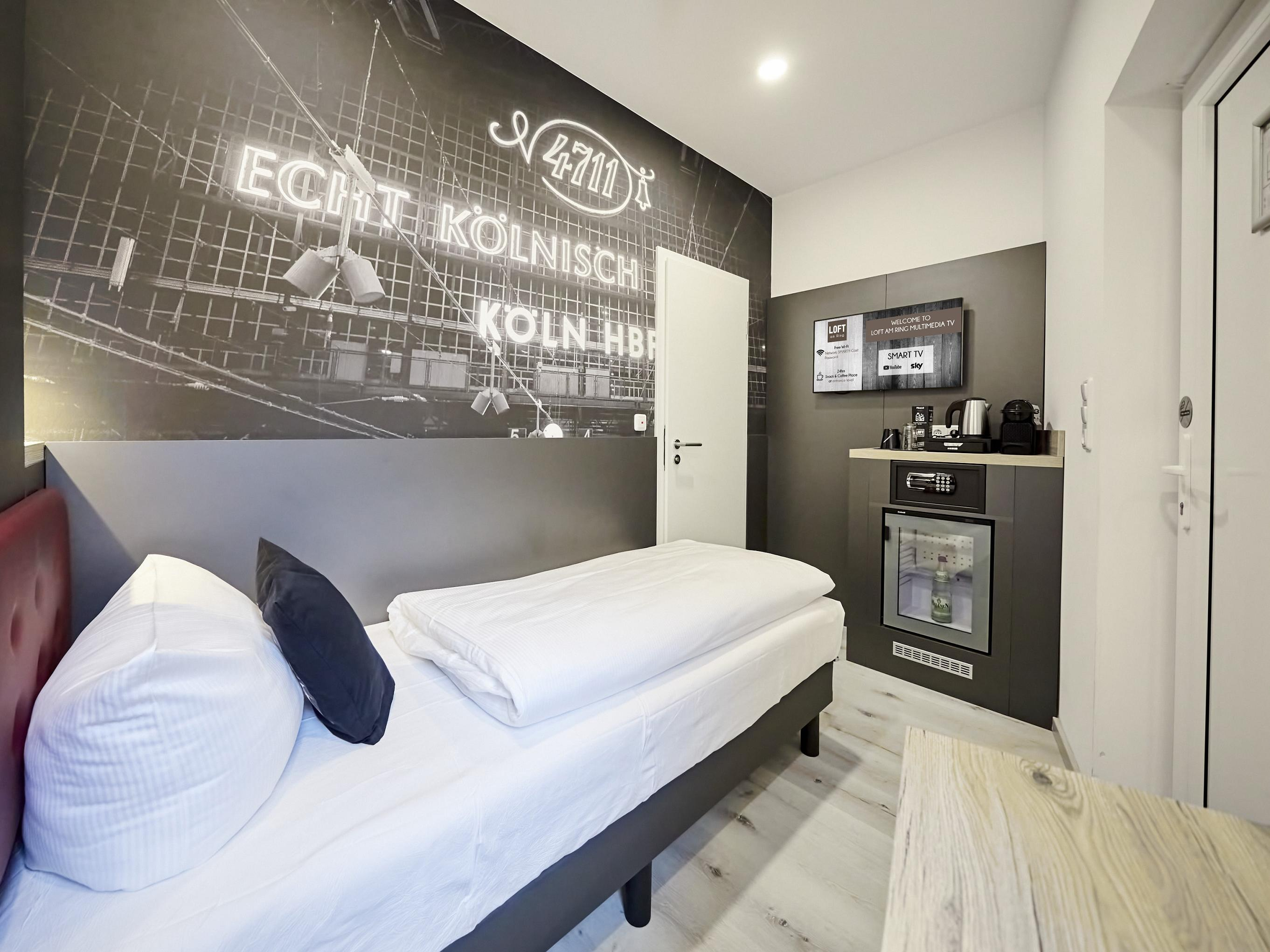 Single Room at SMARTY Cologne Downtown Hotel