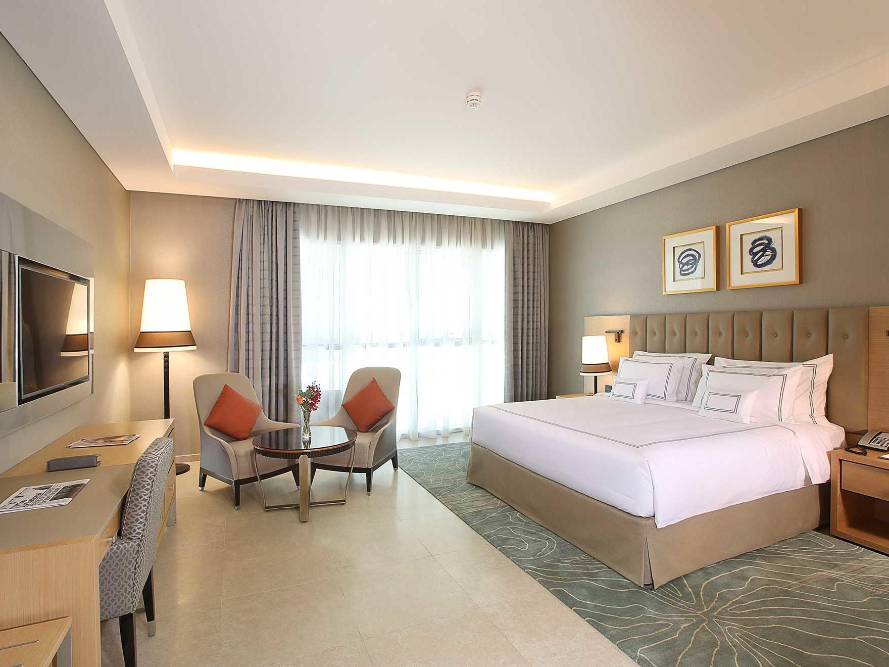 Superior Room at Grand Cosmopolitan Hotel in Dubai