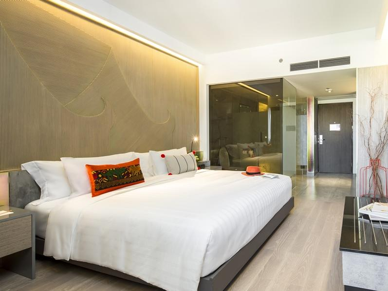 Deluxe room at U Hotels and Resorts