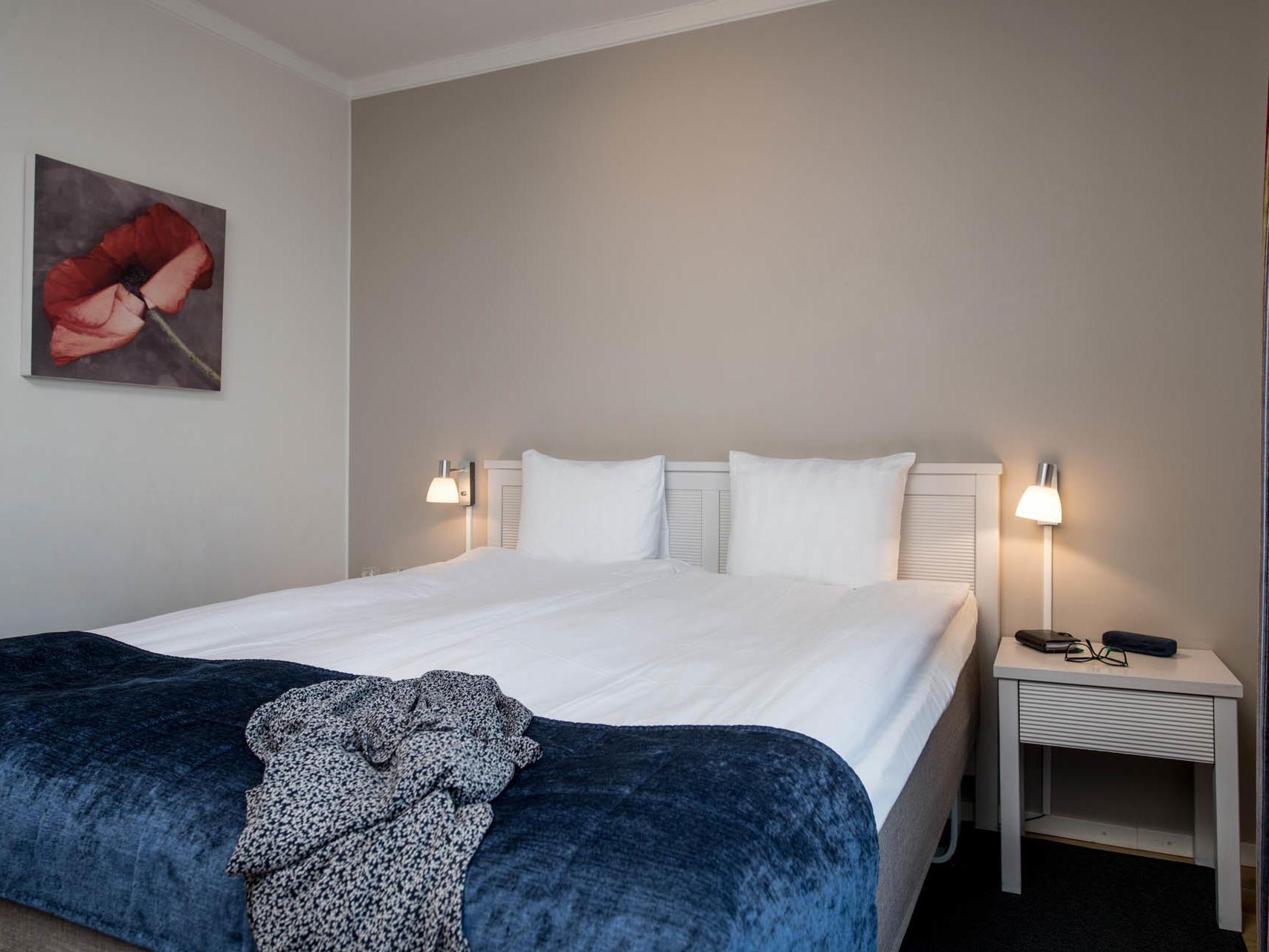 Double Room at Hotel Tegnérlunden in Stockholm, Sweden