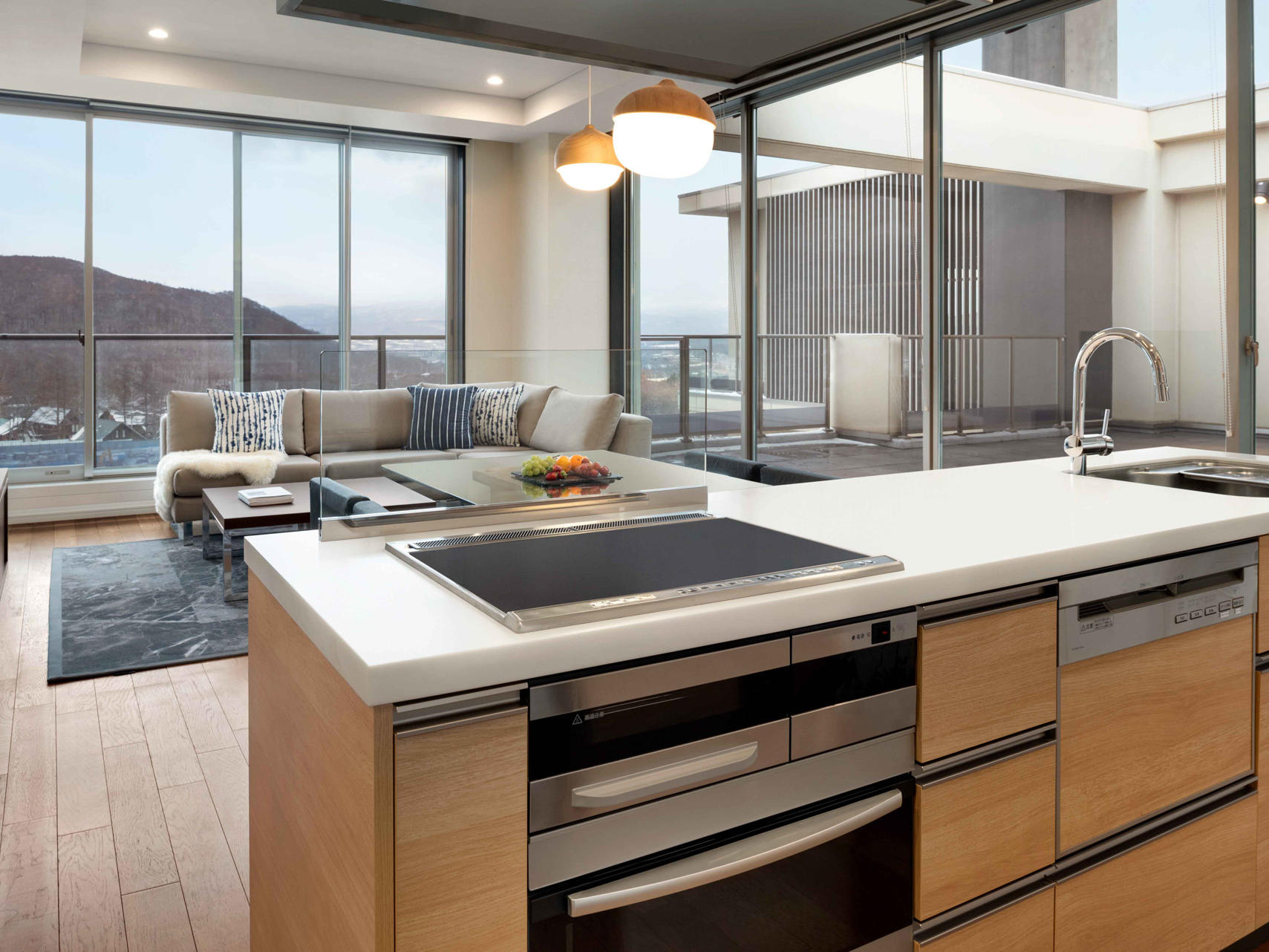 Pantry in 2 Bedroom Penthouse City View at Chatrium Niseko Japan