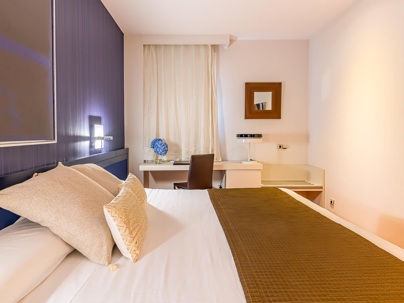 Double Standard Room at Hotel Amura Alcobendas near Madrid Airport